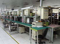 DIP Equipment Test Line